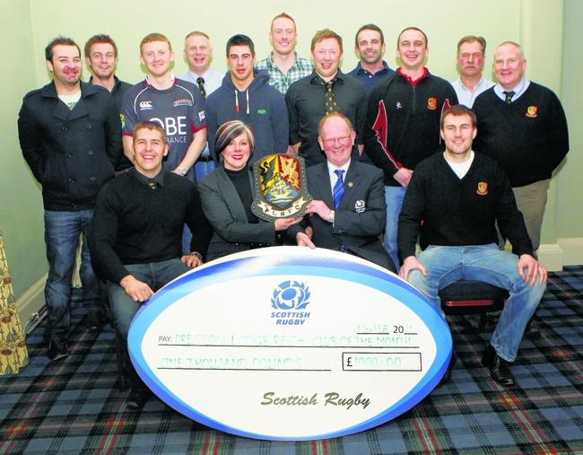 Preston Lodge are the toast of Scottish rugby | East Lothian Courier