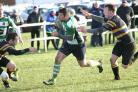 Dunbar RFC playing Hawick Harlequins at Hallhill on Saturday