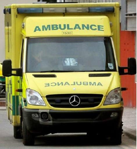 The letter writer was taken to hospital by ambulance after a suspected stroke