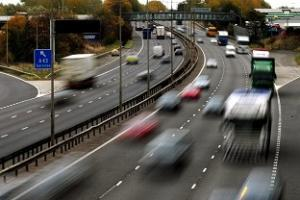 Traffic in Britain hits highest level with 317.8bn miles travelled