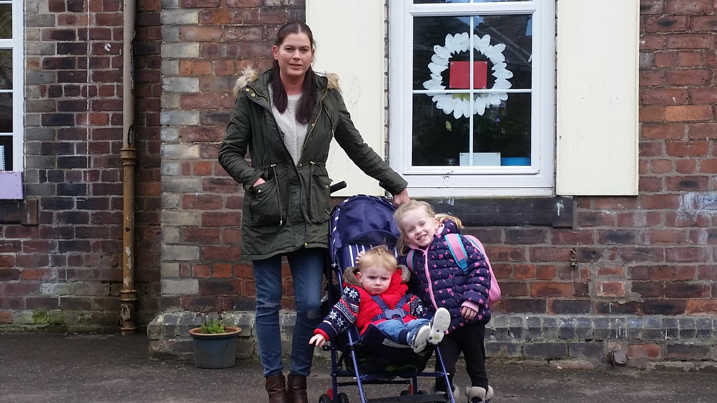 Sarah Goonan and her children are among those hit by the charge