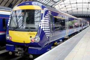 Train services have returned to normal following yesterday's severe disruption