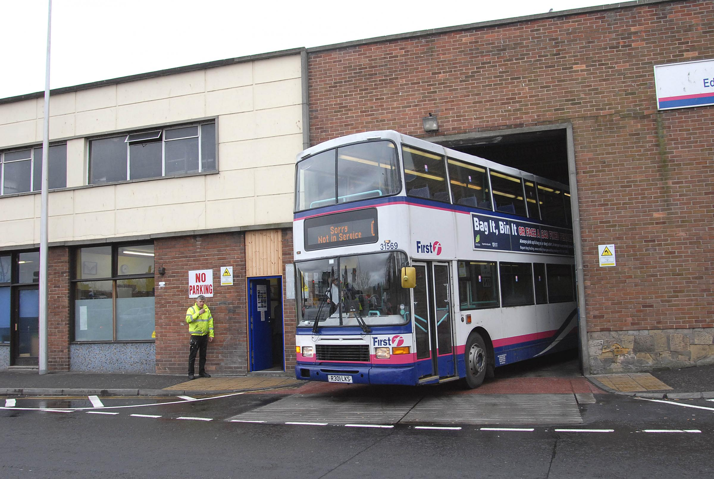 First bus will close its depots at Musselburgh (pictured here) and North Berwick under the plans