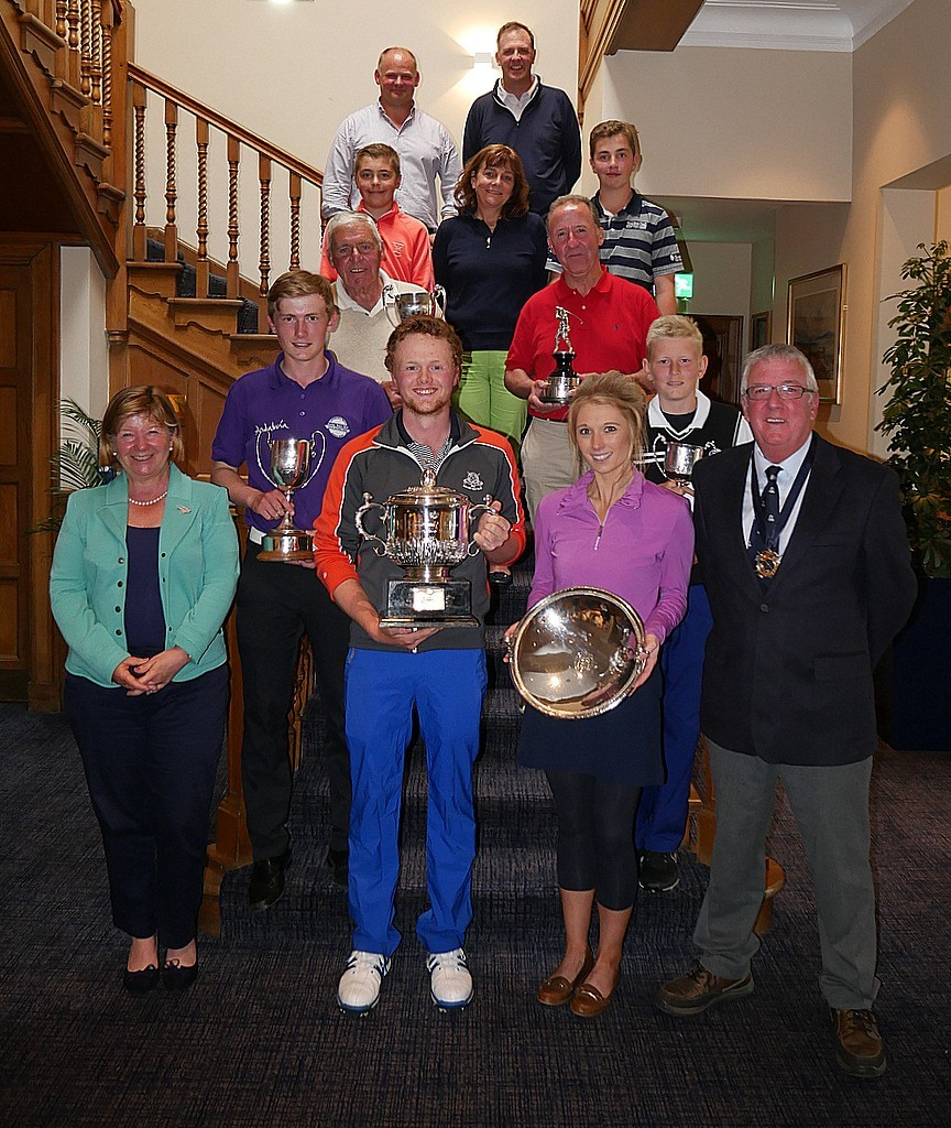 Gullane Golf Club championship winners