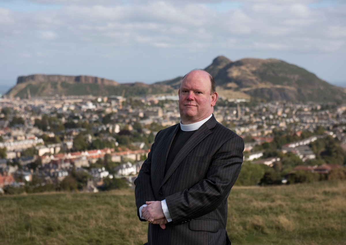 The Rev Dr Derek Browning takes his post in May 2017