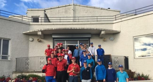 East Lothian were victorious for the first time at the Ryder Cup-style match against Edinburgh
