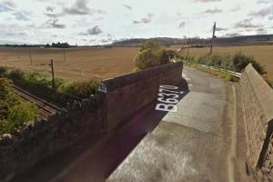 School Brae links West Barns to the Hallhill area of Dunbar. Pic Google Maps