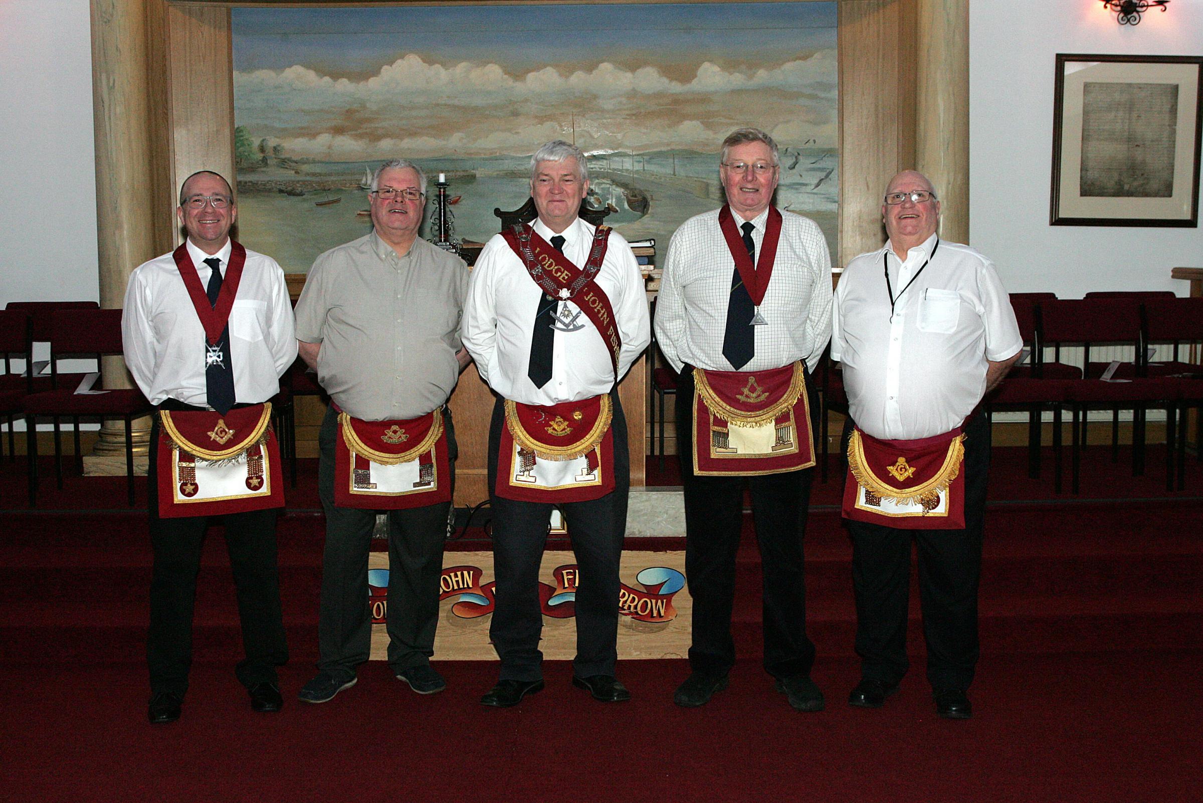 Were Not A Secret Organisation Stress Musselburgh Freemasons