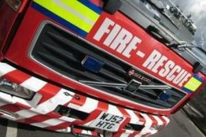 Firefighters are at an incident off the A1