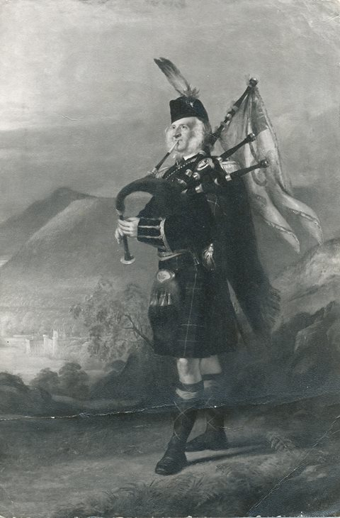 The Piper to the 2nd Marquess of Breadalbane, which has been stolen