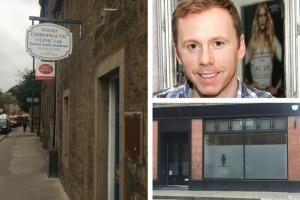 Wight's Chiropodist's practice (main image) has closed after Luke Melbourne (top right) set up his own business in the town (bottom right)