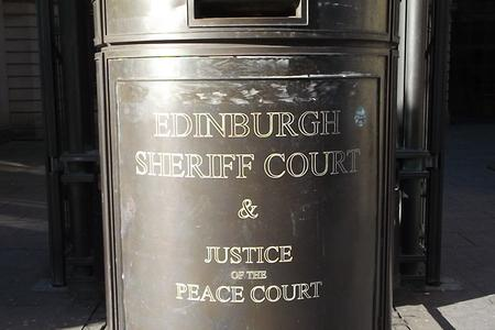 Grant was jailed at Edinburgh Sheriff Court