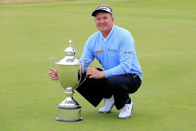 Paul Broadhurst was crowned winner of the Scottish Senior Open. Picture: Getty Images