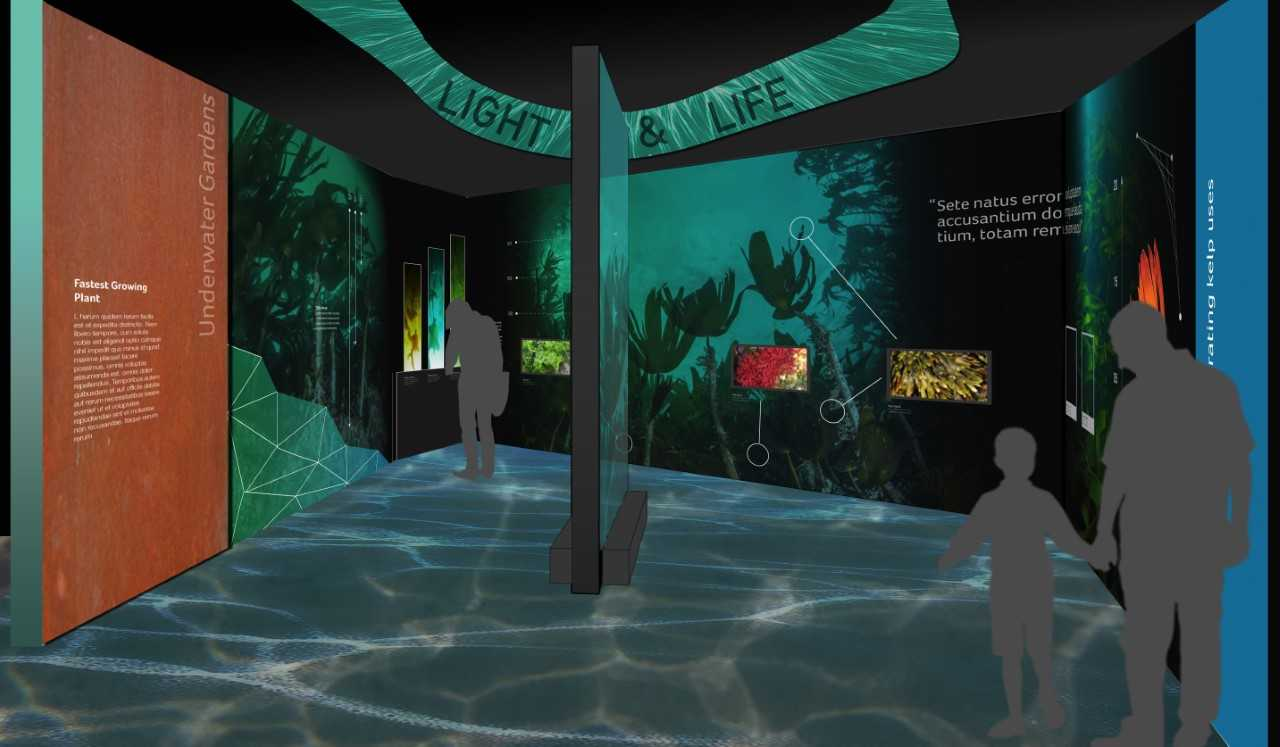 The exihibitions will be interactive, and some are 3D. Image courtesy Event Communications