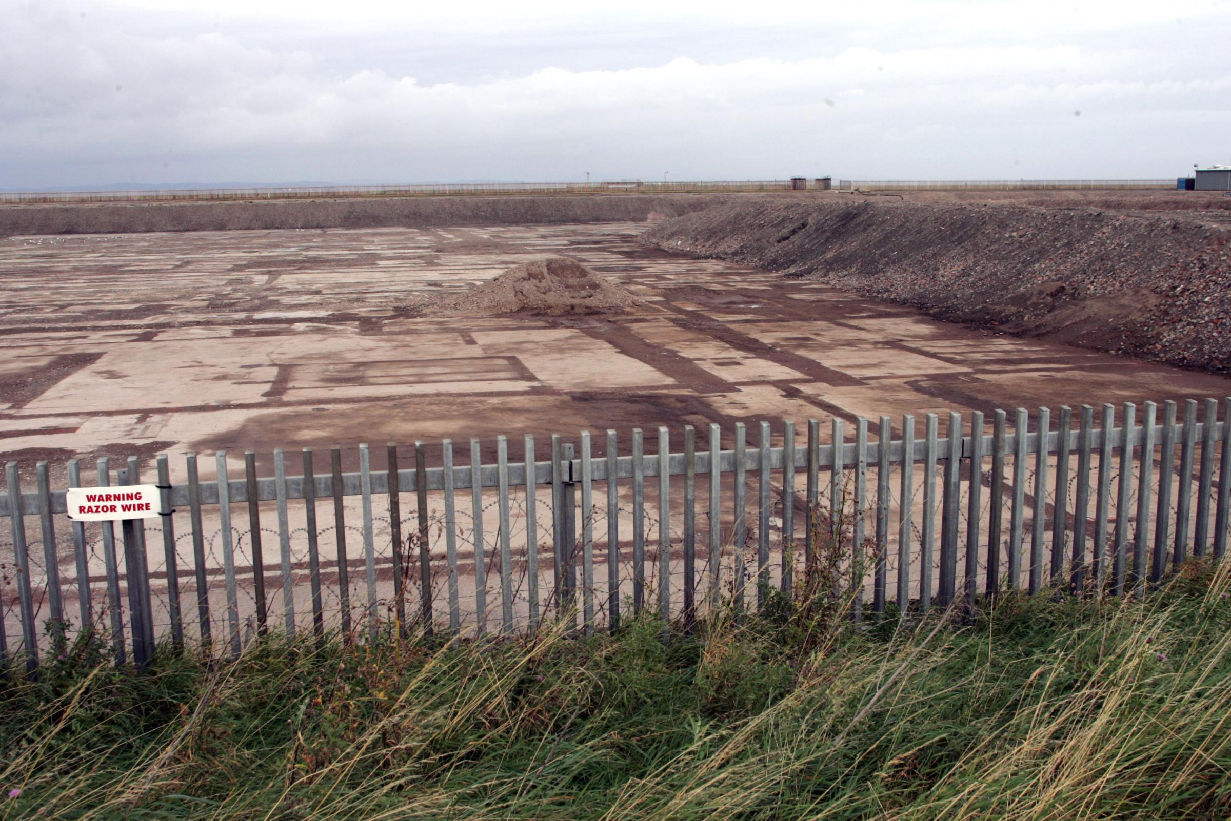 Cockenzie Power Station has been razed to the ground