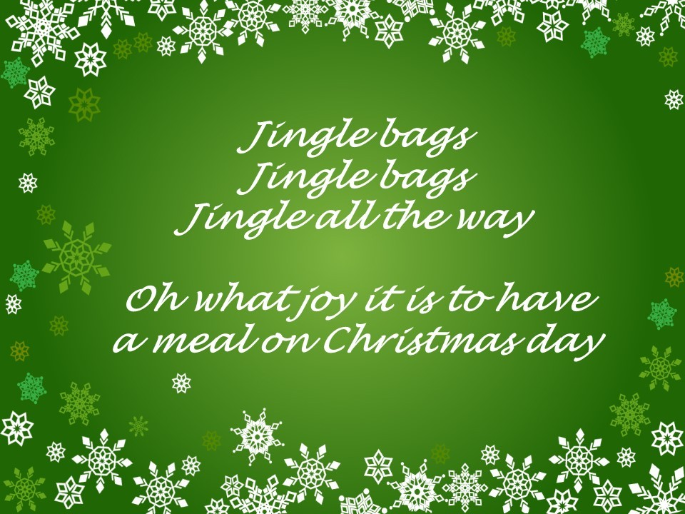 East Lothian Foodbank is collecting for Jingle Bags to feed families this festive season