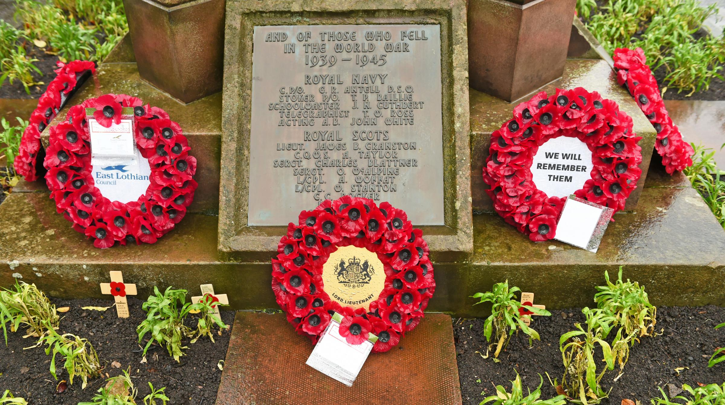 Remembrance Sunday Musselburgh
