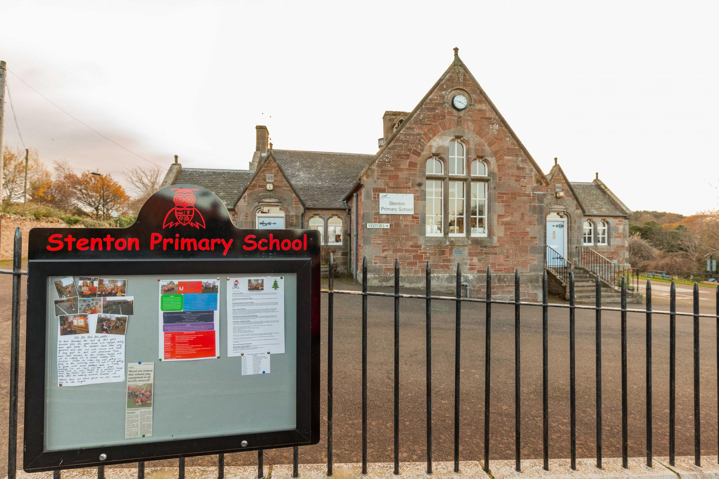 Stenton Primary School could be at risk of closure under one of the council's options for saving money