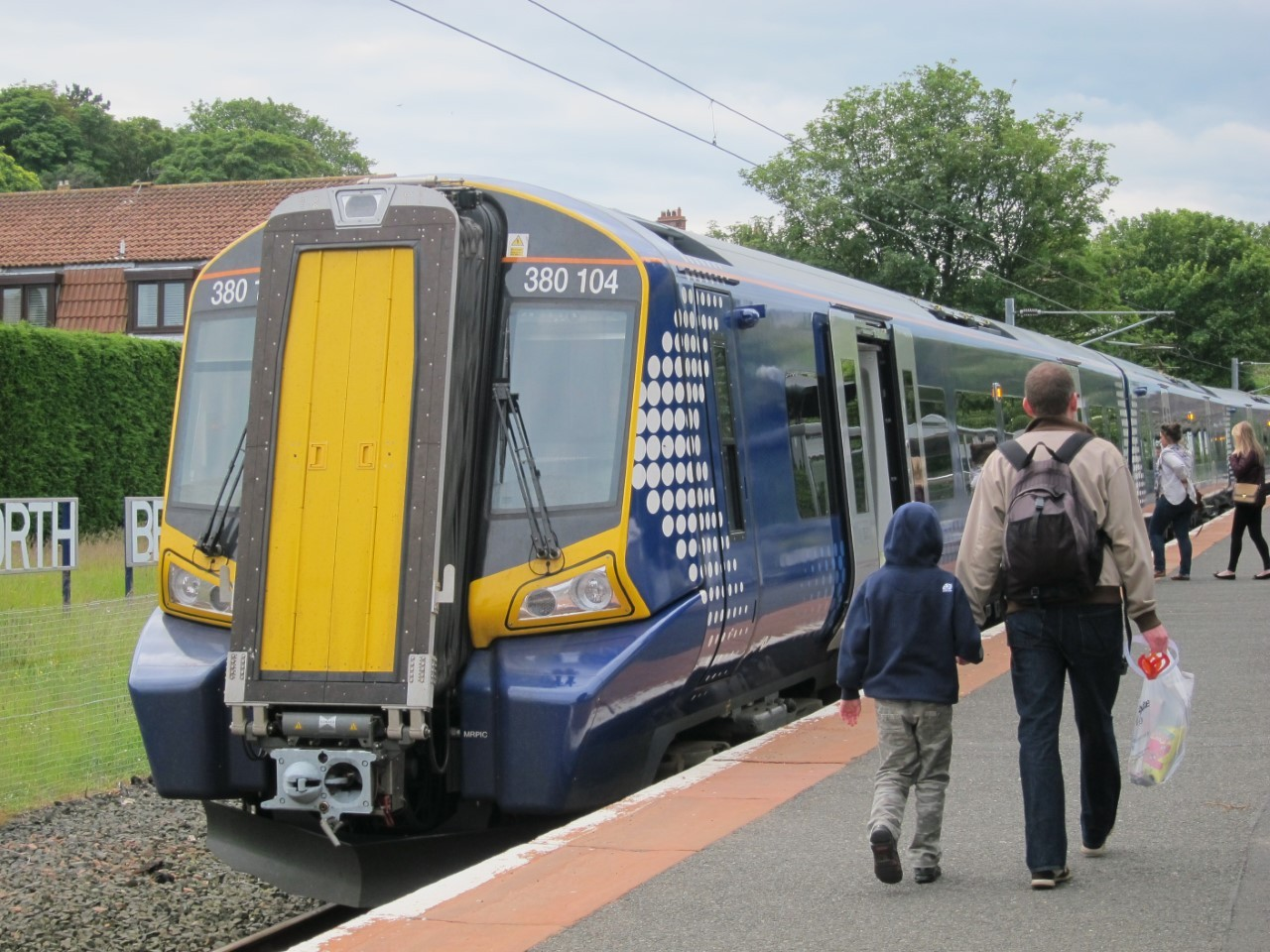 Half-price train tickets for over-60s will cease to apply from Monday. Image ScotRail Alliance