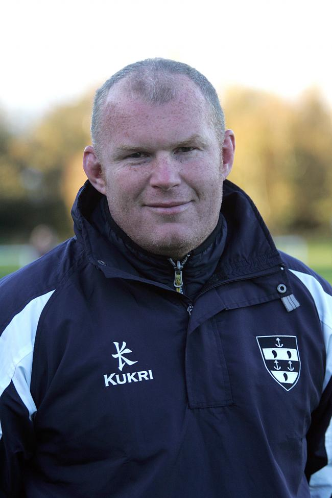 musselburgh rugby coach grant talac 4/11/17.