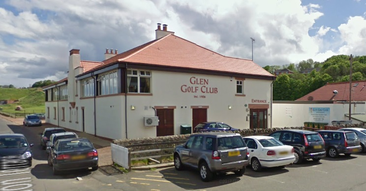 One of the thefts took place at the Glen Golf Club in North Berwick. Image Google Maps