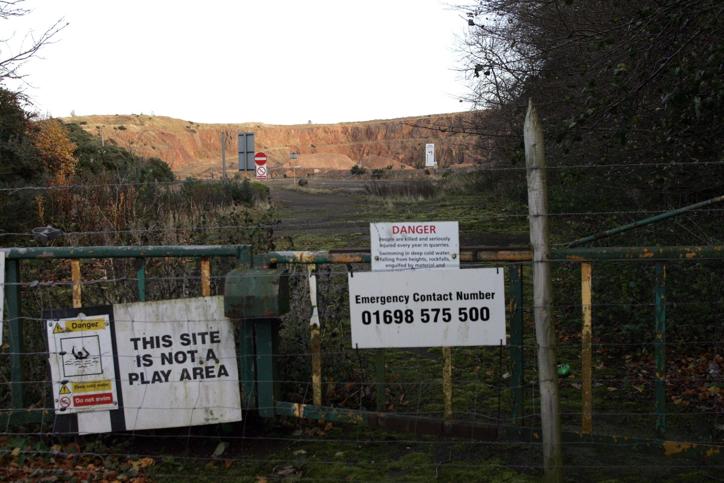 Bangley Quarry could soon become home to an anaerobic digestion plant