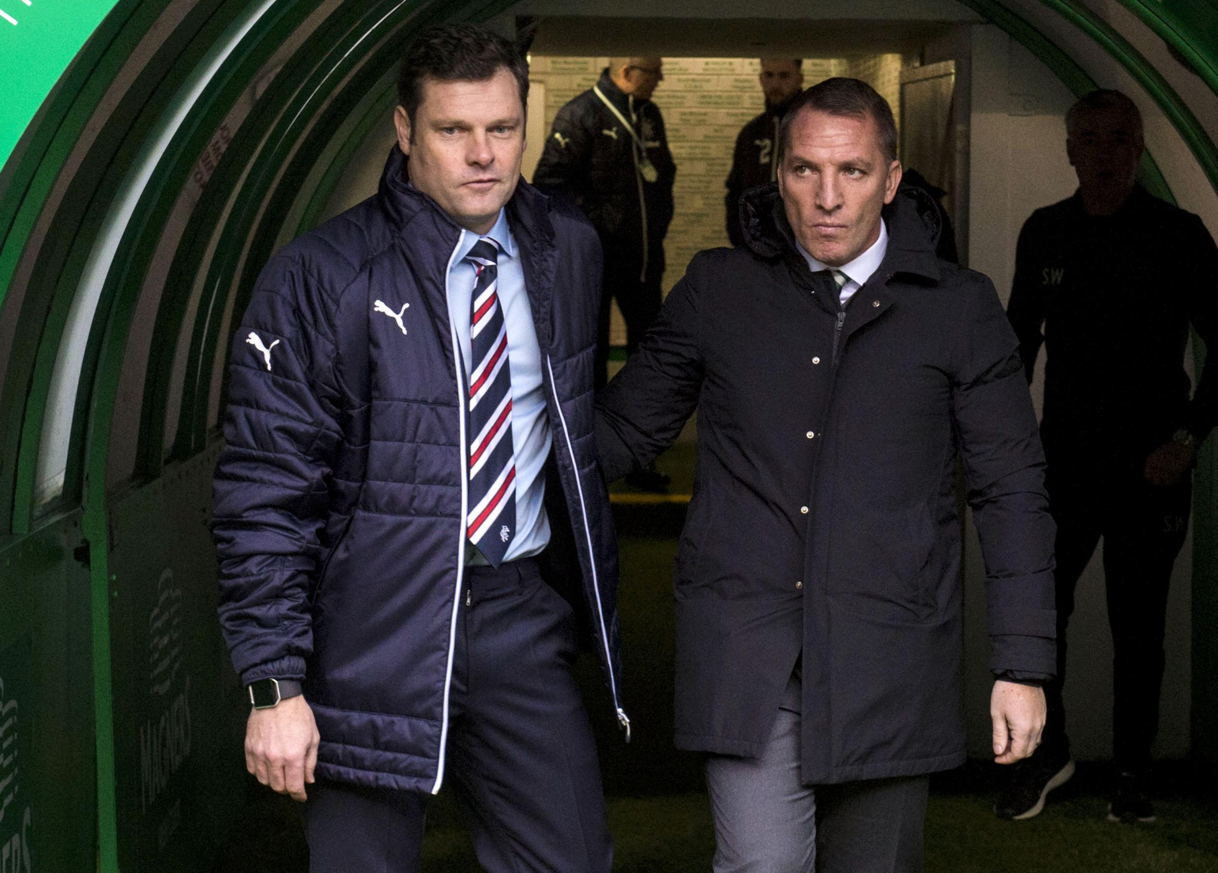 Graeme Murty and Brendan Rodgers