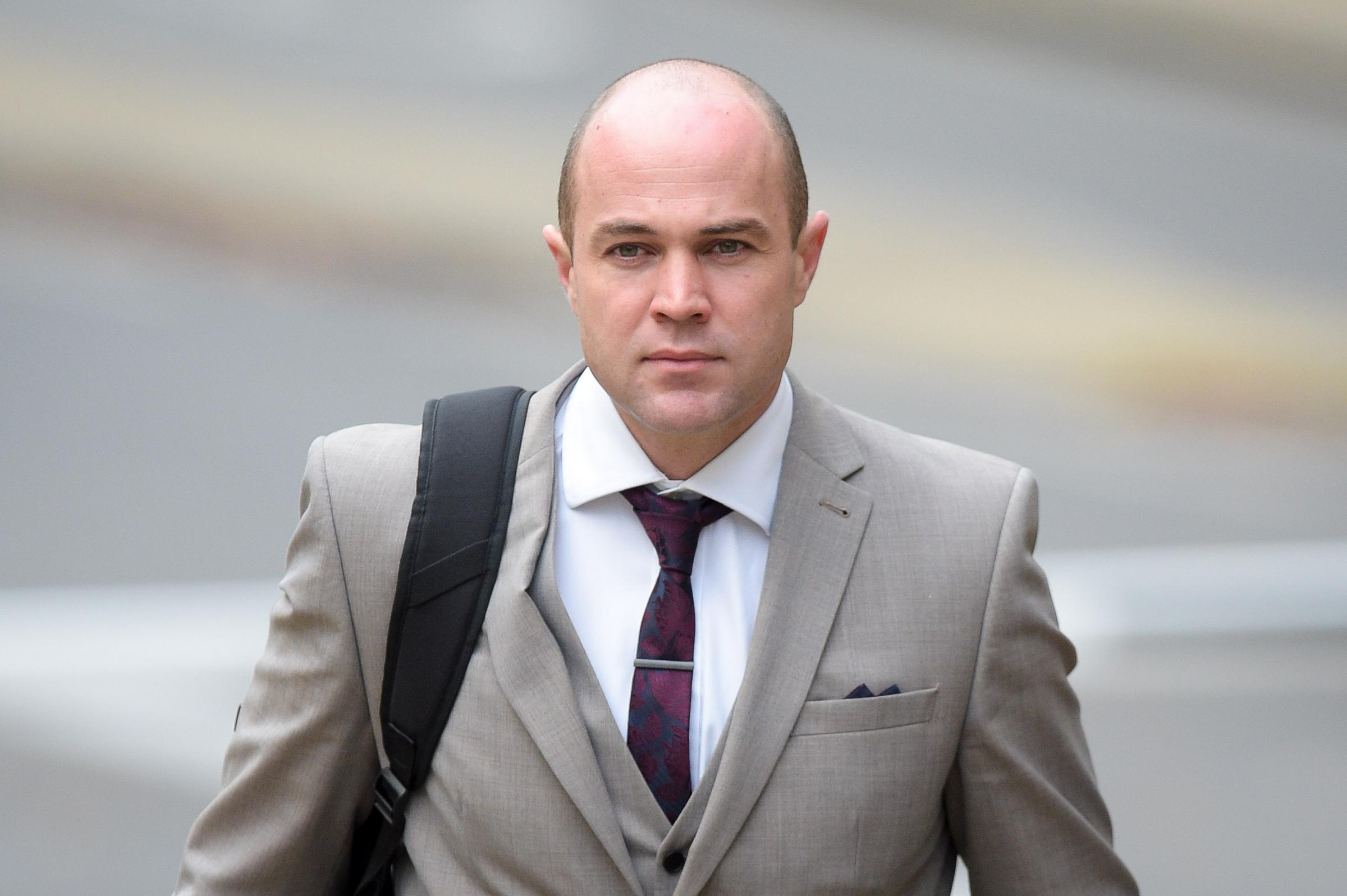 File photo dated 22/11/17 of Emile Cilliers, 37, who faces two charges of attempted murder and a third count of damaging a gas fitting at Winchester Crown Court after being accused of attempting to murder his wife Victoria. PRESS ASSOCIATION Photo. Issue