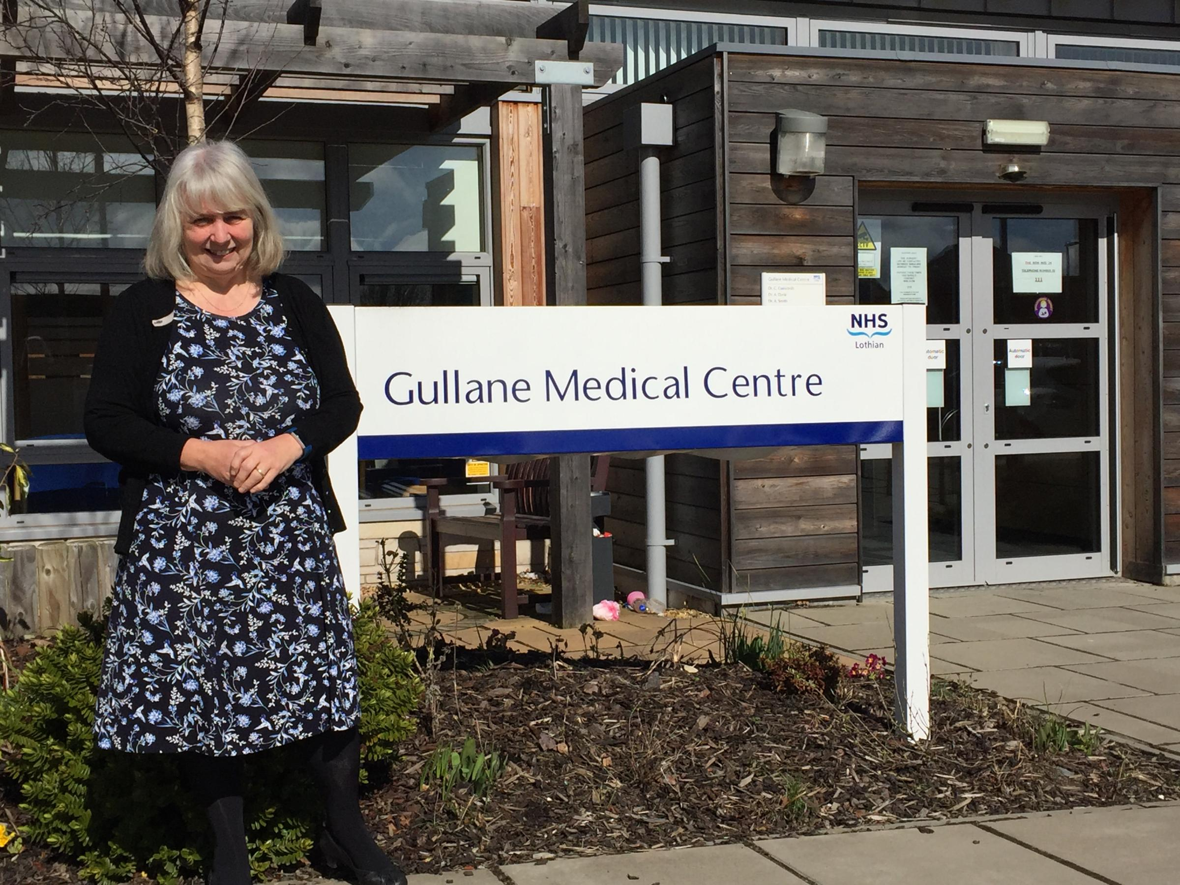 Dr Durie is getting ready to leave Gullane Medical Centre