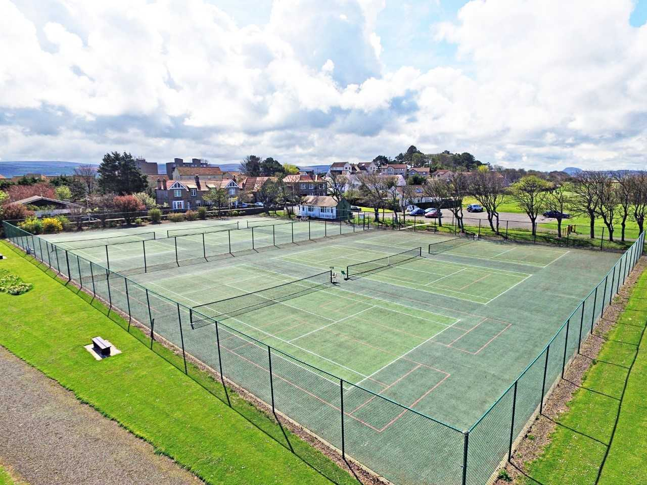 Plans are being drawn up to see improvements made at Dunbar's tennis courts