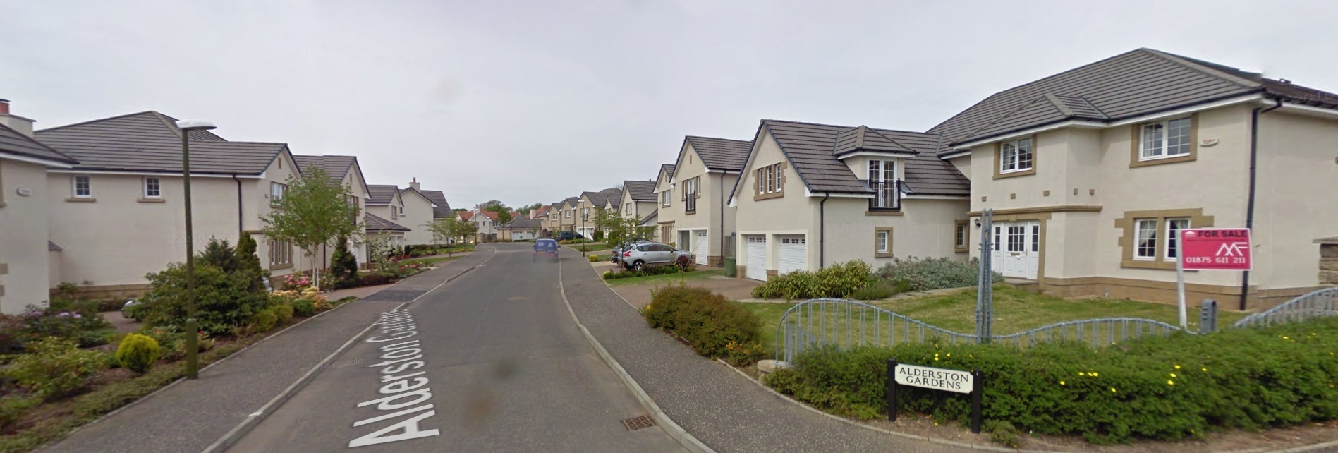 Break-ins took place in Alderston Gardens, Haddington, and Tranent's Bankpark Crescent