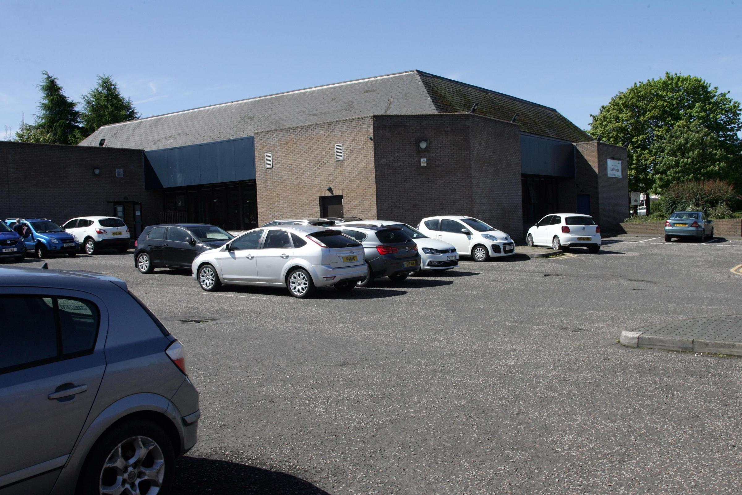 Could parking restrictions be introduced at the Loch Centre?