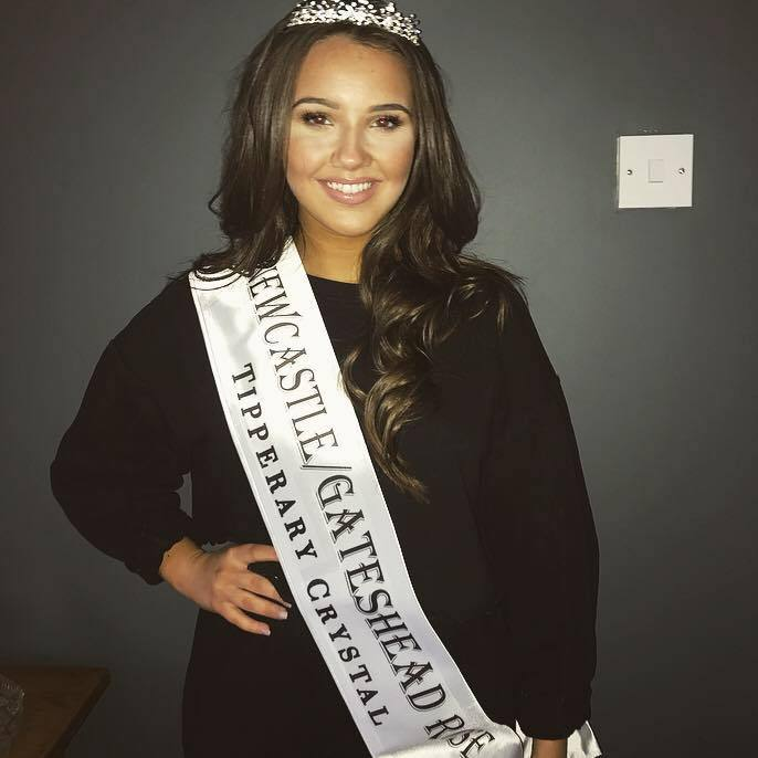 Ciara Harvie is celebrating after she was chosen to represent Scotland and the North East of England in the Rose of Tralee Festival