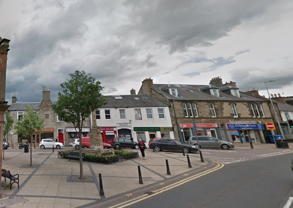 Police launched search in Tranent town centre