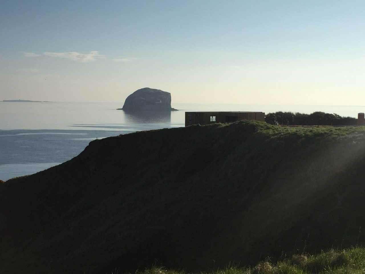 The clifftop cafe will have a stunning view of the Bass Rock