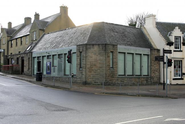 The former RBS building in Prestonpans could be turned into a restaurant