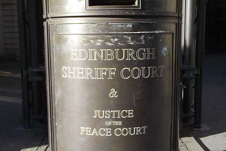 Matthew Benison appeared in private at Edinburgh Sheriff Court