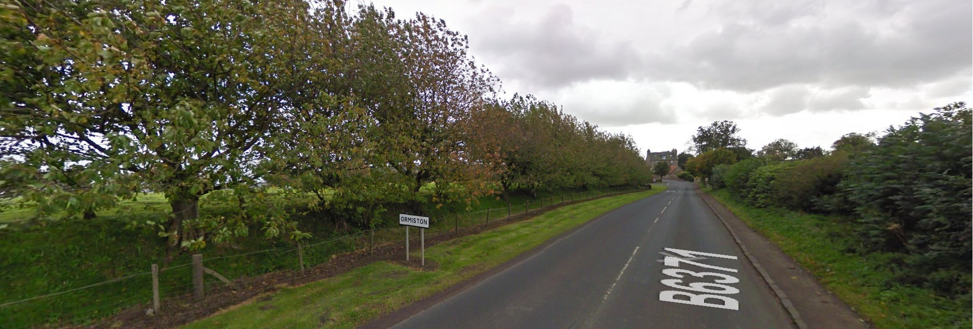 A shed on Ormiston's Moffat Road was among those targeted. Picture: Google Maps