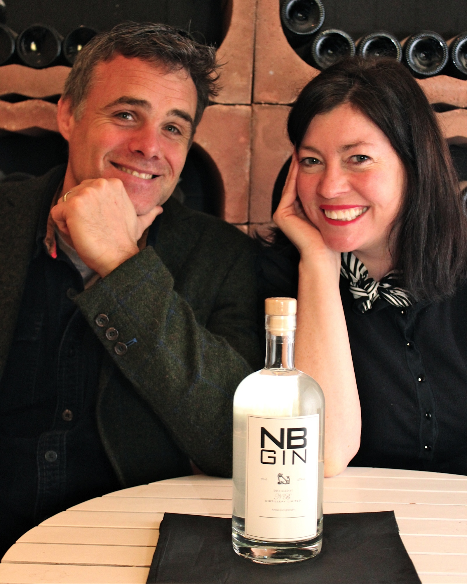 NB Gin founders, Steve and Viv Muir, are hoping for award success later this year