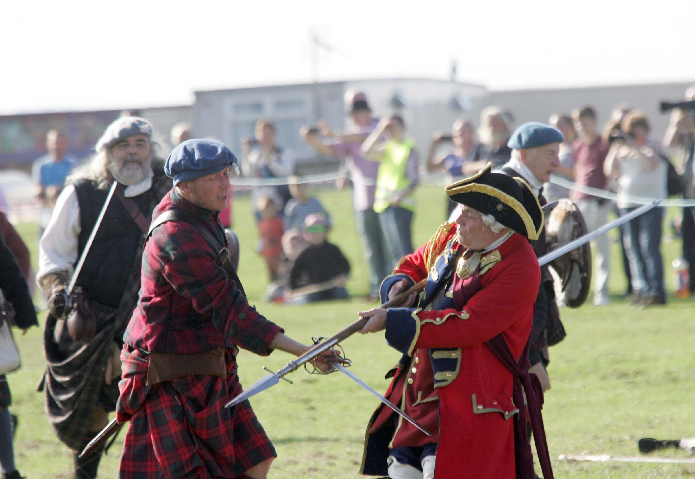 The Battle of Prestonpans is re-enacted this weekend