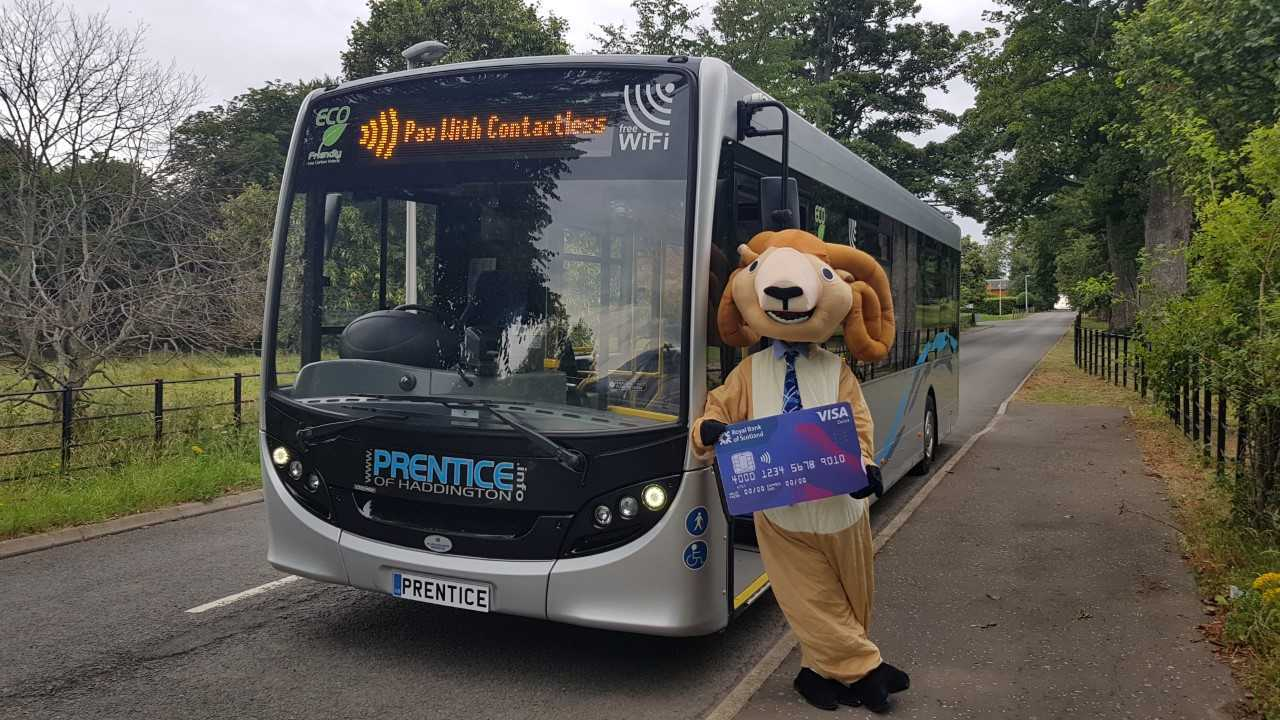 Prentice Coaches going contactless