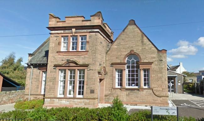 Council services are set to be moved into Prestonpans Library. Image Google Maps