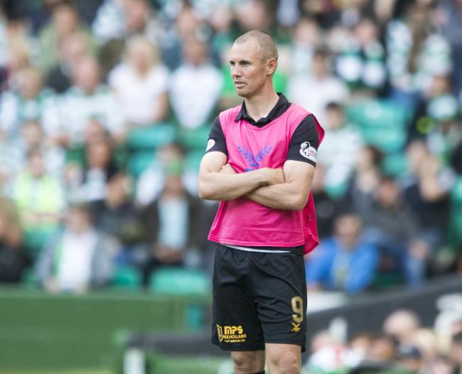 File photo dated 04-08-2018 of Livingston player/manager Kenny Miller PRESS ASSOCIATION Photo. Issue date: Monday August 20, 2018. Livingston have confirmed they have parted company with player-manager Kenny Miller after the former Scotland striker refuse