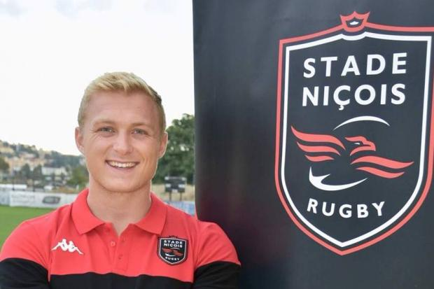 Cammy Hutchison is on loan at Stade Nicois for the season