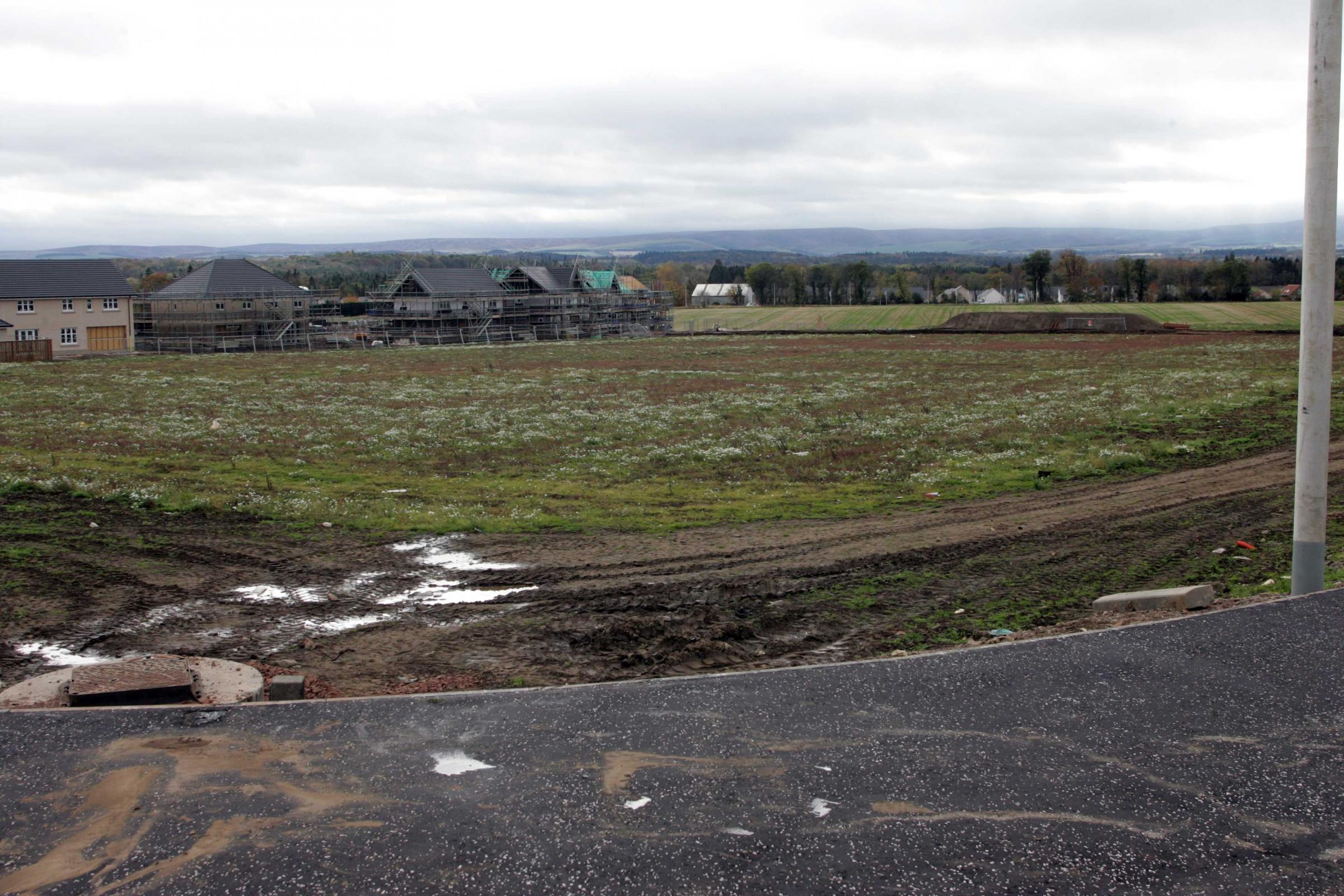 Work on a new school at the heart of the Letham Mains development will start in the New Year