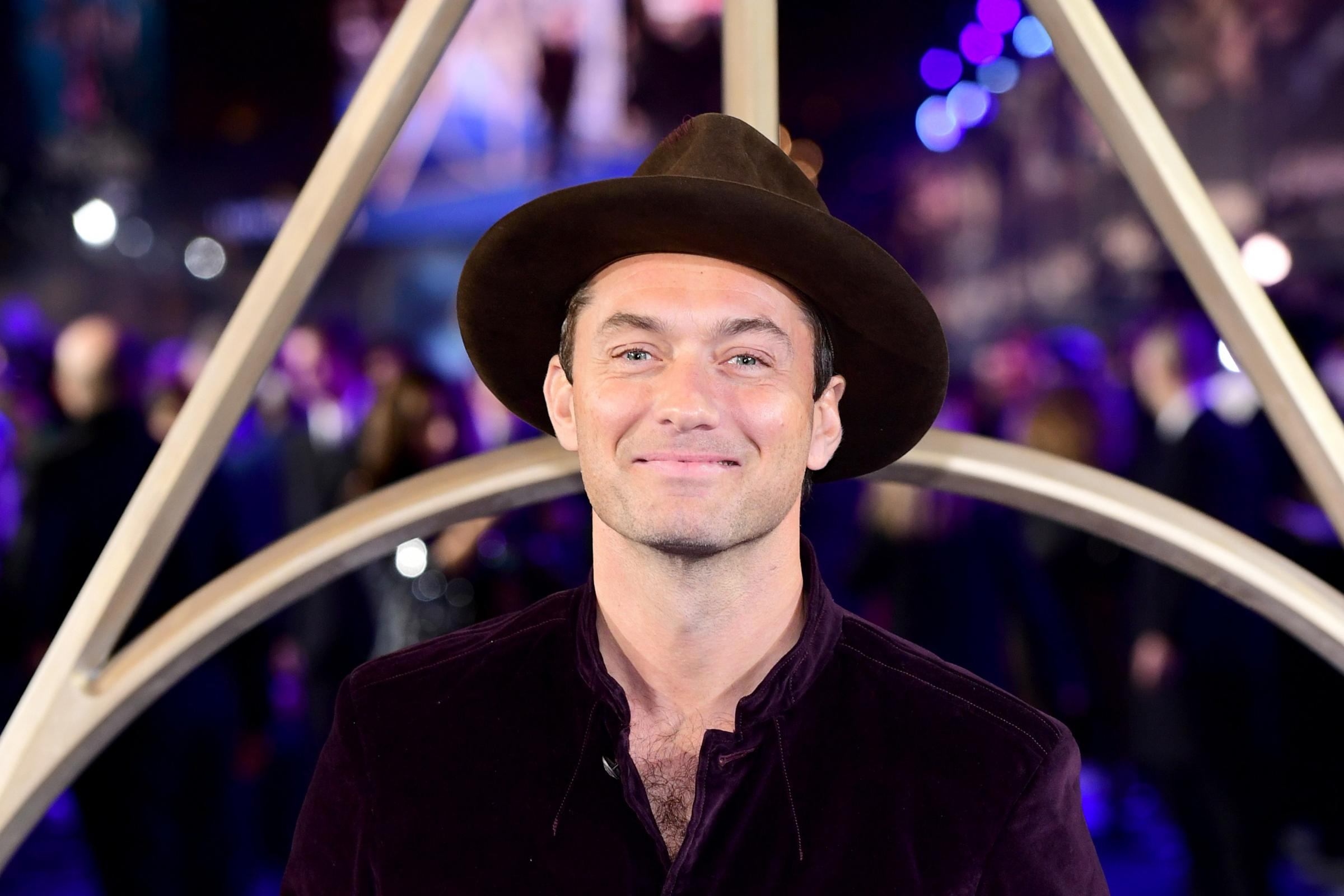 Jude Law 'stupid' not to realise significance of playing Dumbledore