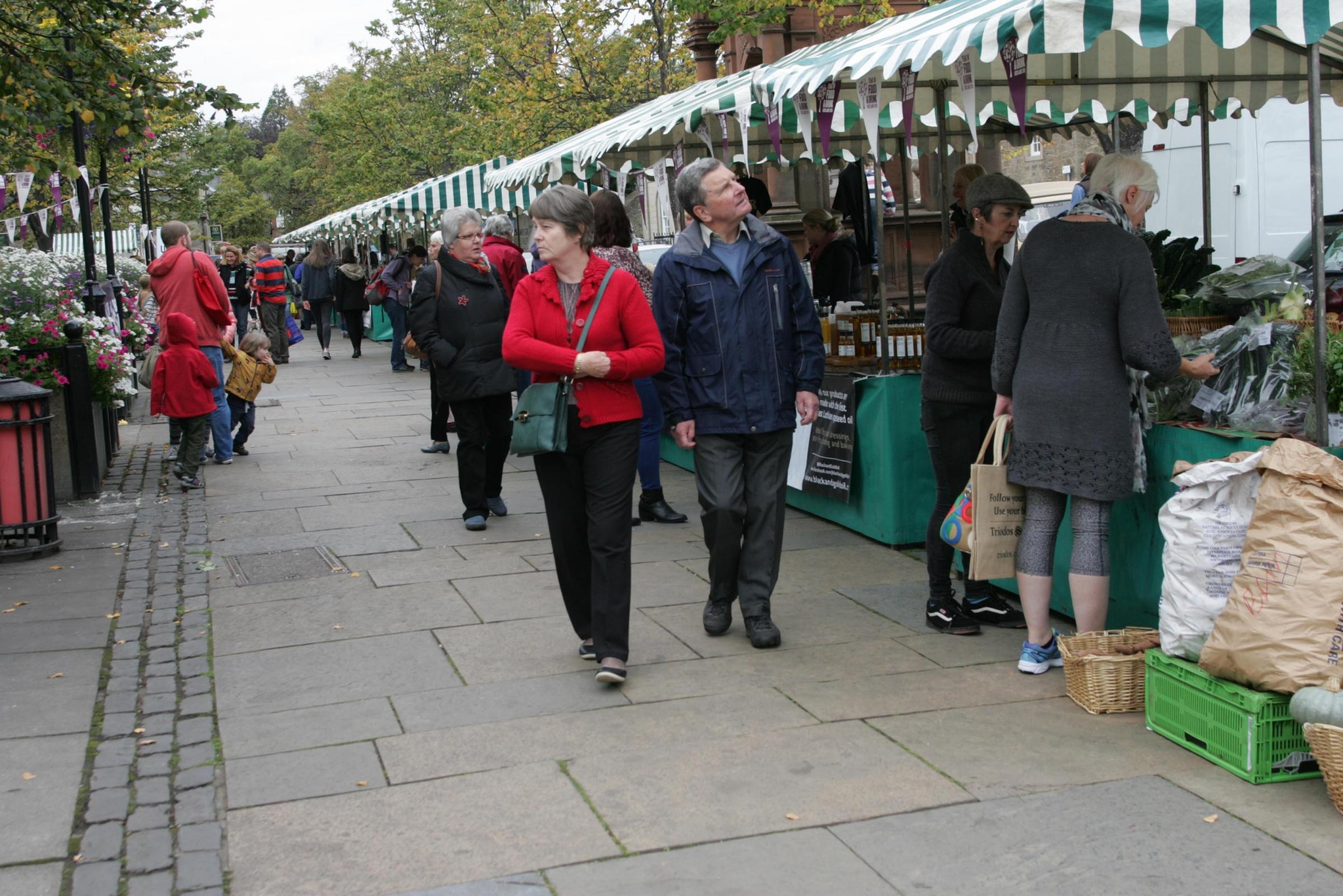 Haddington Farmers Market.