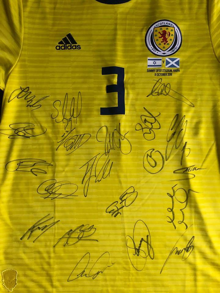 Andrew Robertson's shirt is up for grabs
