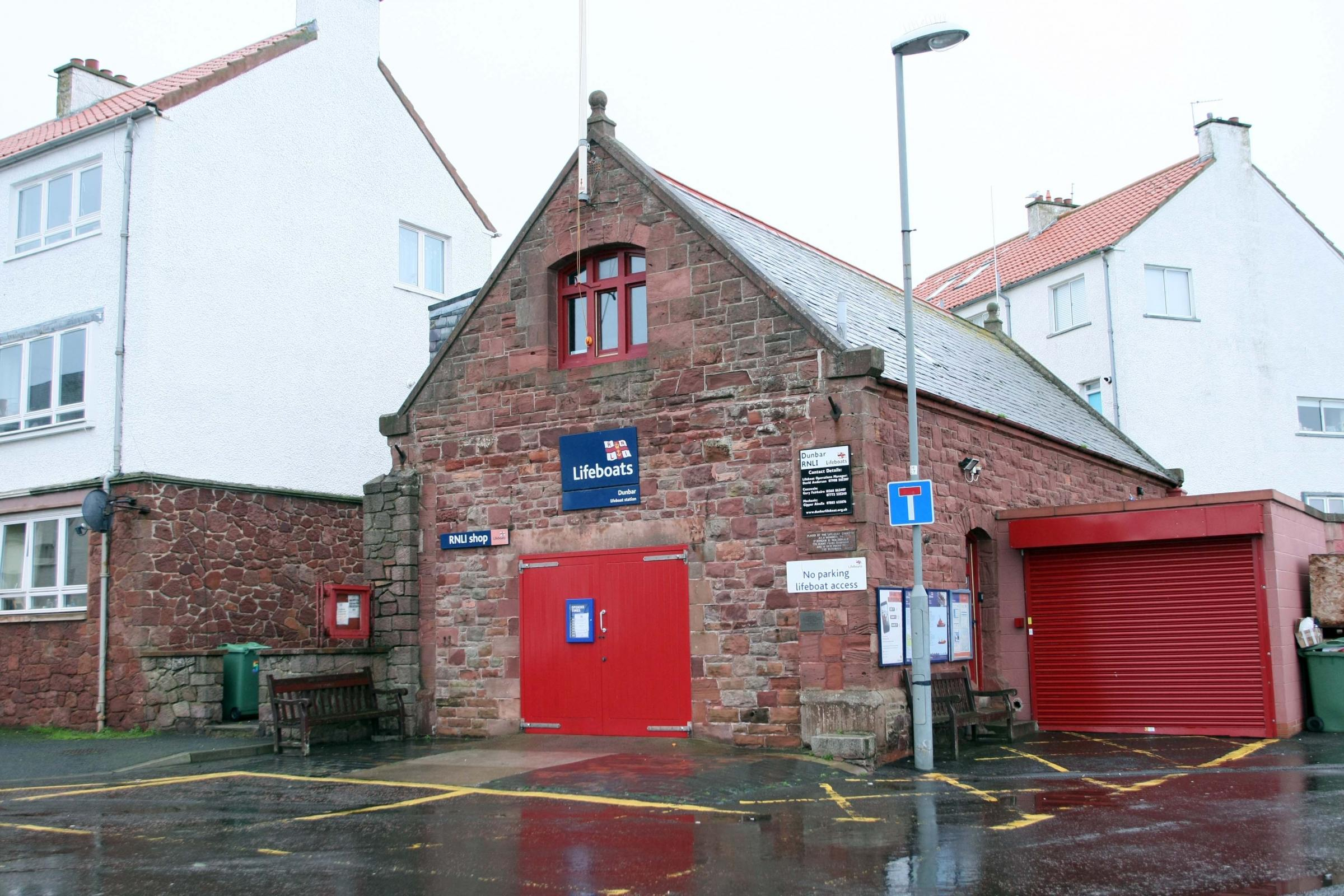 Ambitious plans are being drawn up to revamp Dunbar's lifeboat station