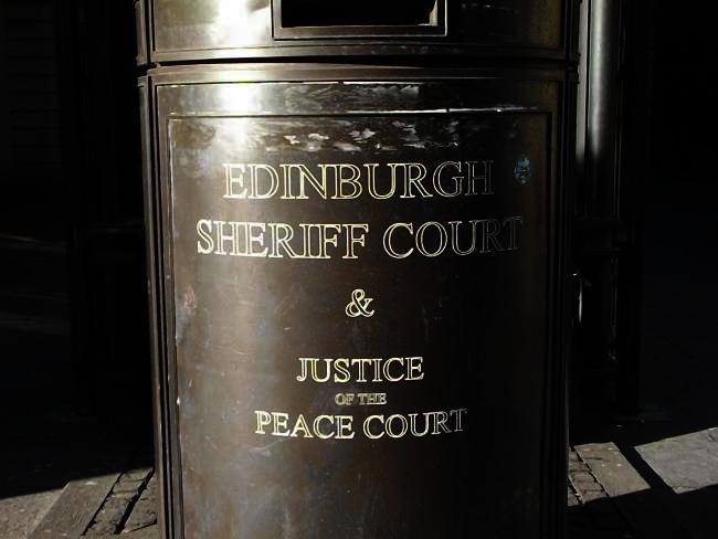 Murphy initially appeared at Edinburgh Sheriff Court